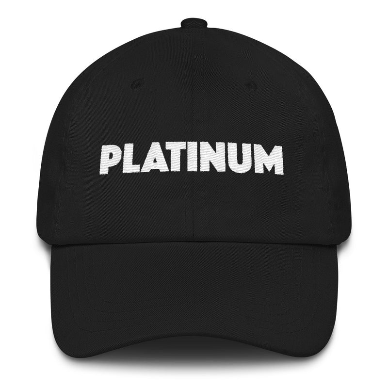 Platinum Dad Hat - Platinum Beauty Shop