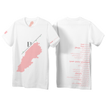 ENORM || Live Love Rebuild Women's Bayt Map T-shirt