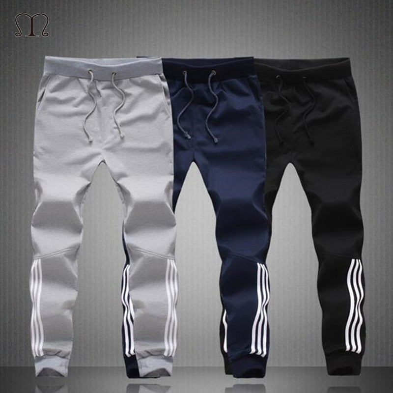 Triple Stripe Skinny Sweatpants