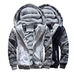 Fleece Winter Zip Jacket