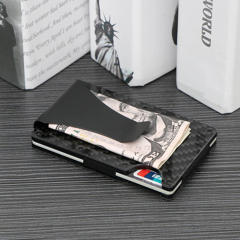 Slim Carbon Fiber Credit Card Holder
