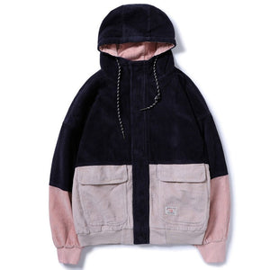 Cords Hooded Jacket