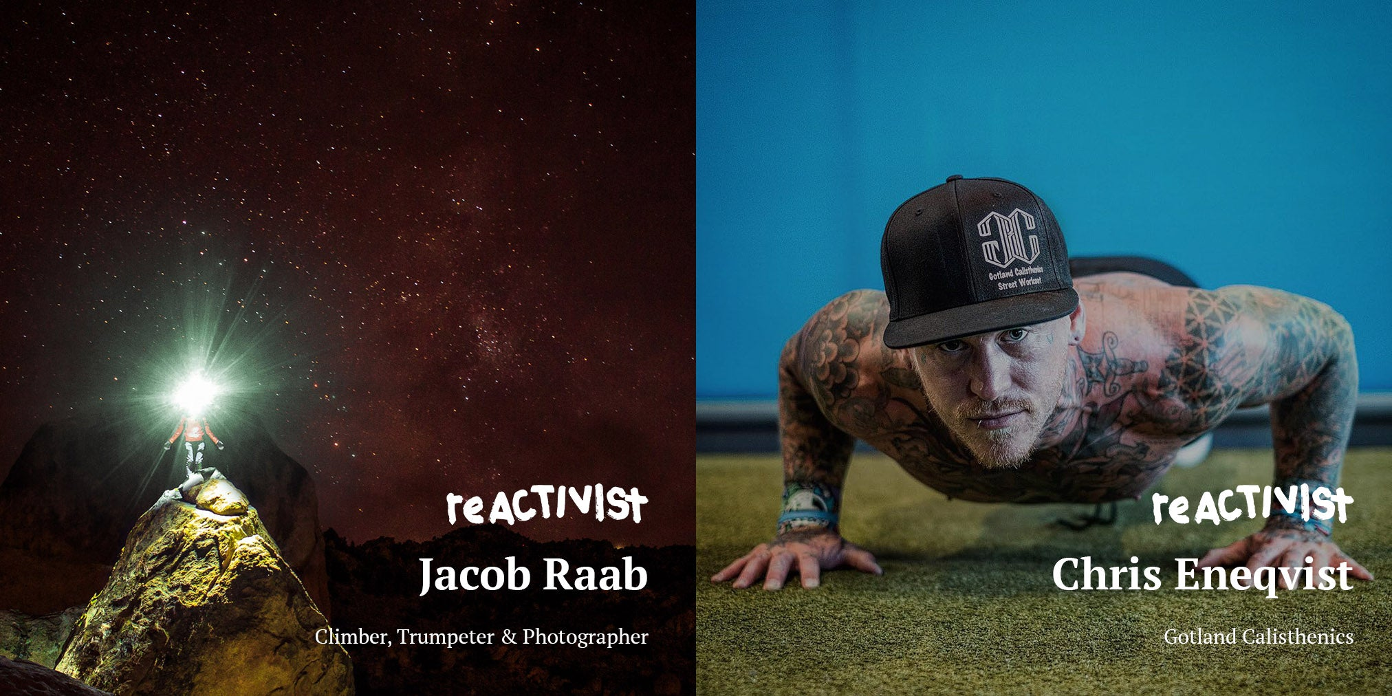 reACTIVISTS Jacob Raab and Chris Eneqvist for reDEW8 Jeans