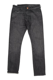 bjork jeans by redew in black implode finish