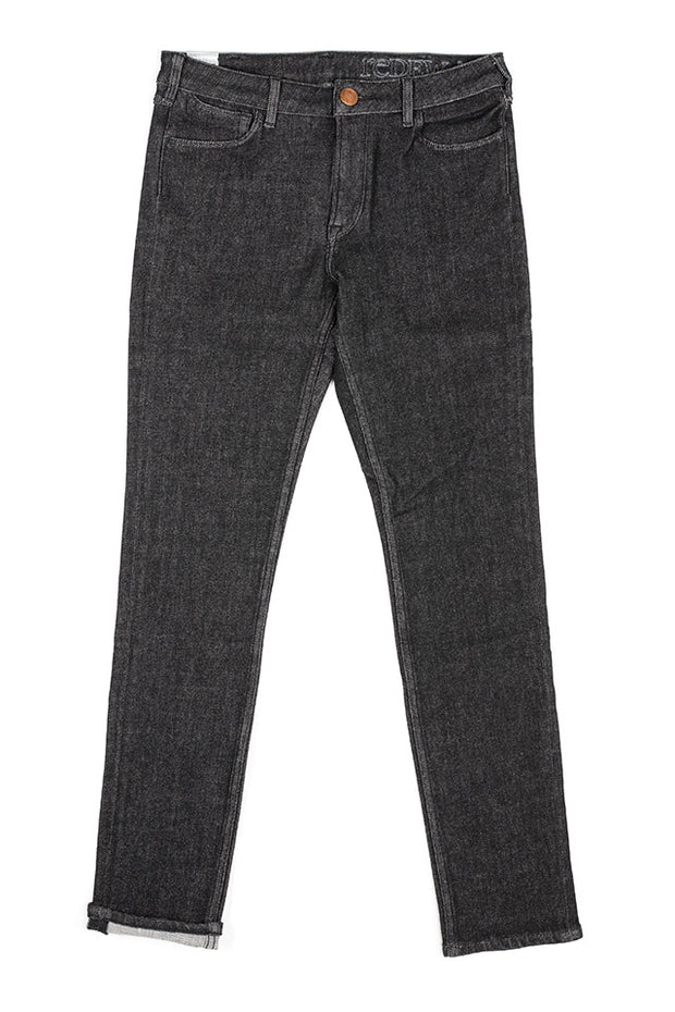 orn jeans by redew in black pre-shrunk finish