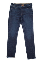 orn jeans by redew in indigo implode finish