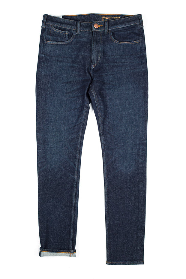 rak jeans by redew in indigo implode finish