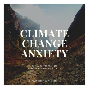 dealing with climate change anxiety