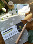 The Worthwhyle Zero Waste Dish Washing Kit