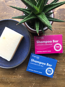zero waste vegan package free shampoo bars