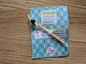 bamboo oriculi ear wax remover spoon