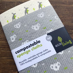 compostable sponge cloths
