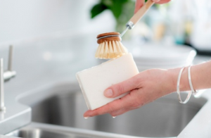 dish washing block soap bar - made in the UK
