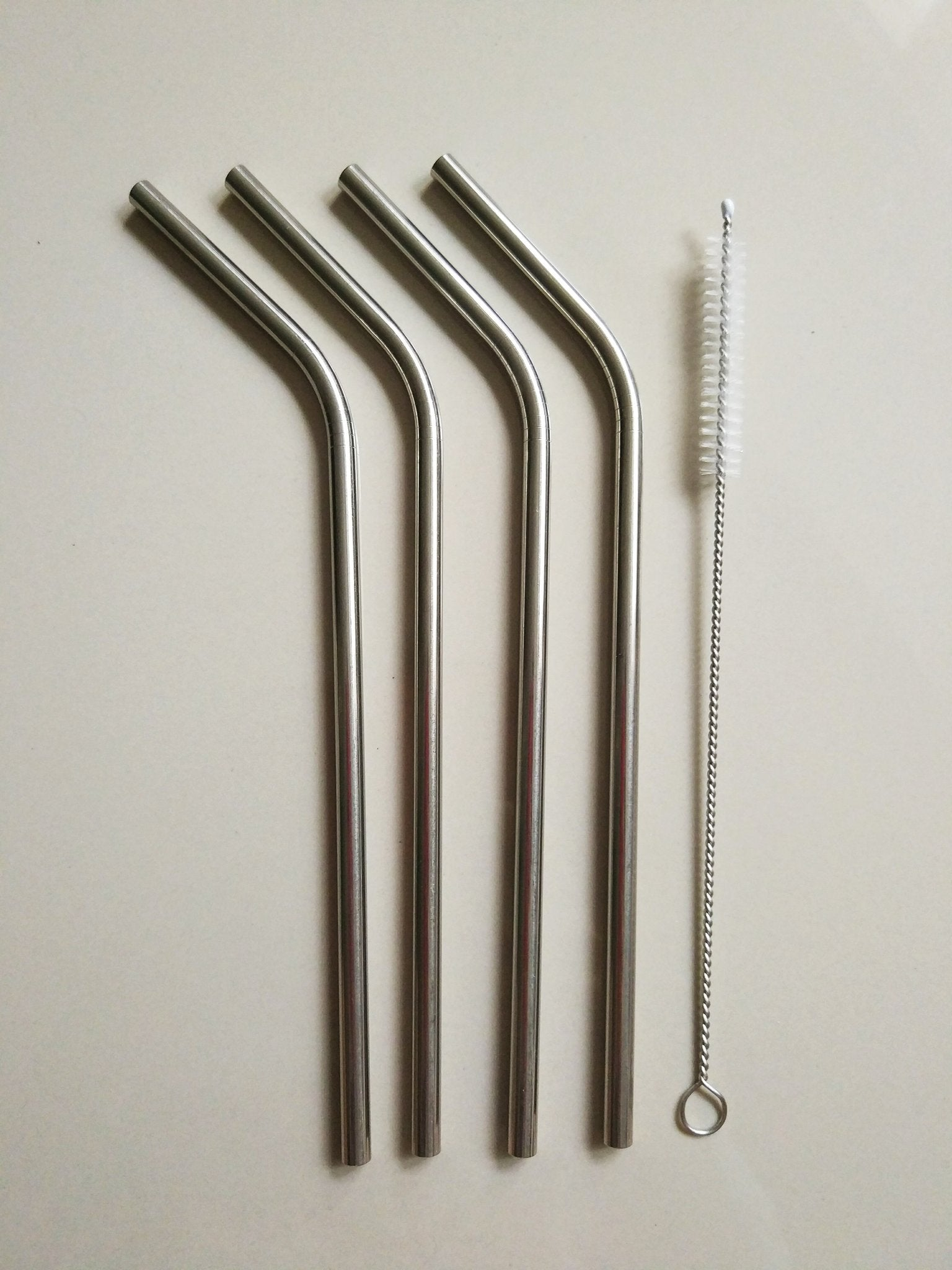 reusable straw set - curved