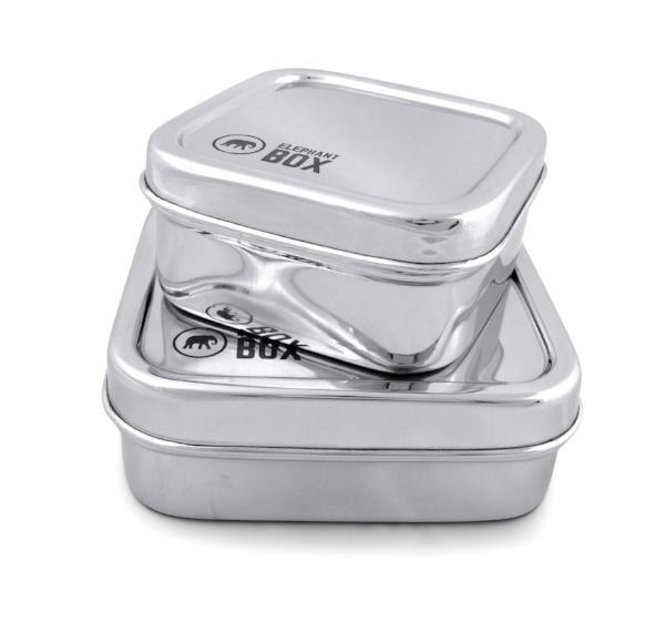 salad box and snack pot set