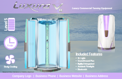 Luxura V8 Flyers