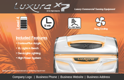 Luxura X7 Flyers
