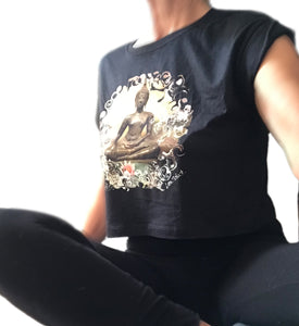 crop top buddha shirt