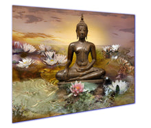 Laden Sie das Bild in den Galerie-Viewer, art print canvas buddha