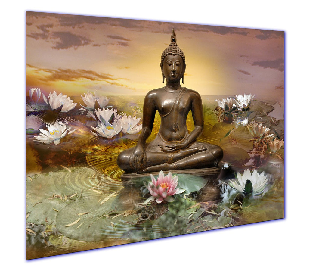 Art Print on Canvas Buddha