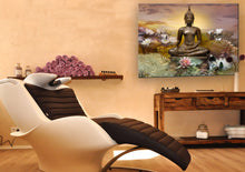 Laden Sie das Bild in den Galerie-Viewer, buddha statue artprint wellness