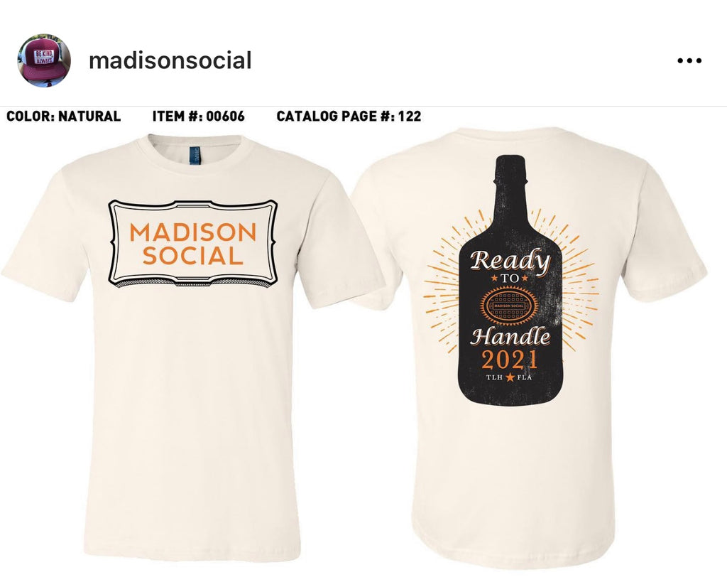 Madison Social Monthly Challenge Shirt