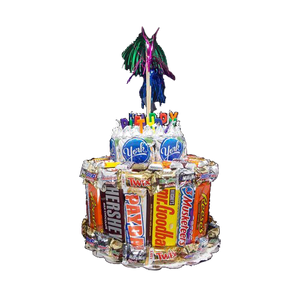 2 Tier Candy Cake