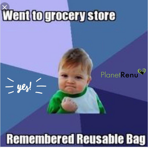 Remembered Reusable Shopping Bags :)