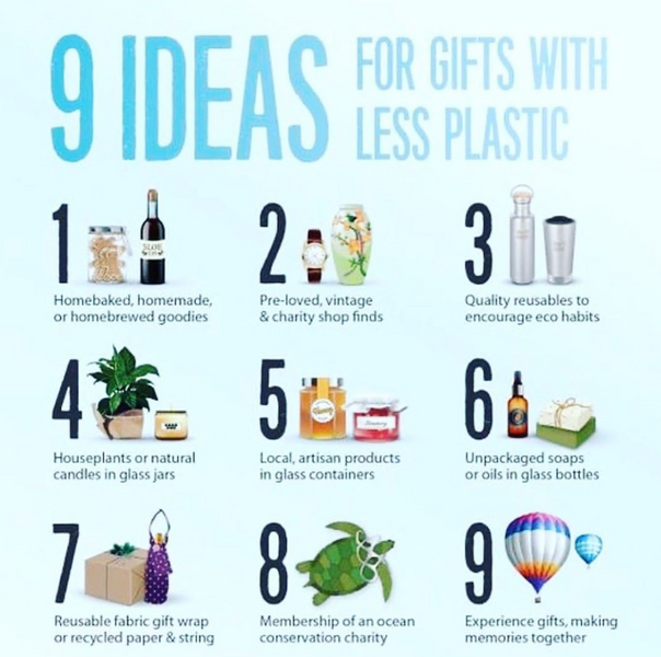 9 Ideas for Gifts with Less Plastic