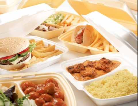 Ban on Styrofoam takeout containers