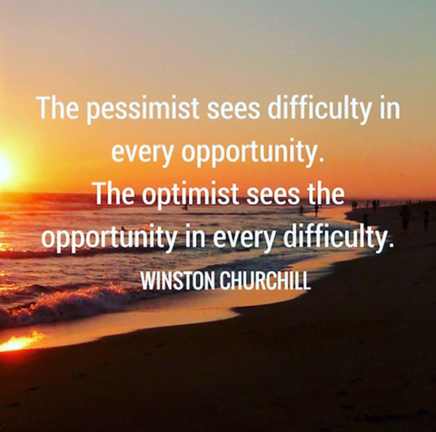 Monday Wisdom, Inspirational Quote, Making a Change, Planet Renu, Optimist
