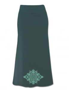Lotus Burst Organic Maxi Skirt
