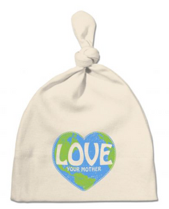 organic cotton baby hat, Lovey Your Mother organic cotton hat