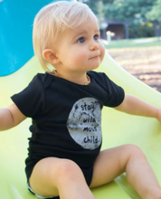 Stay Wild Moon Child Organic Baby Bodysuit