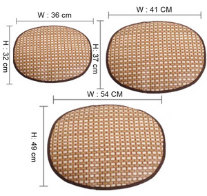 Oval Cooling Bamboo Mat for your Pet