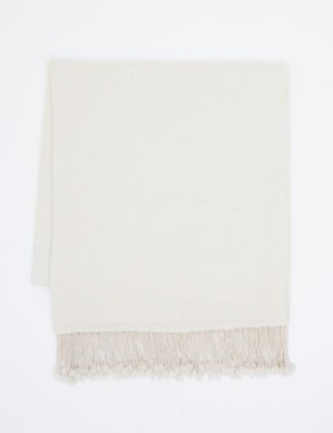 CASHMERE WOOL THROW