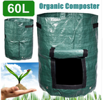 60L Eco-Friendly Garden Composter Bin