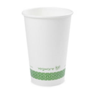 Compostable Single Wall Hot Cups- by the CASE