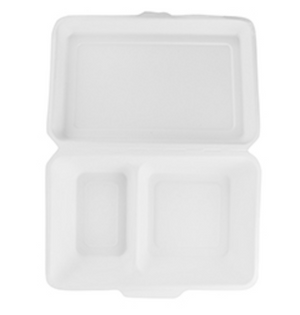Eco-Friendly Bagasse Takeout Boxes & Containers
