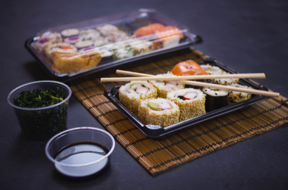 Compostable Sushi Trays