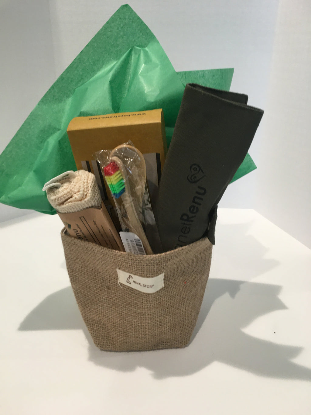 Mini Eco Basket #4- Khaki