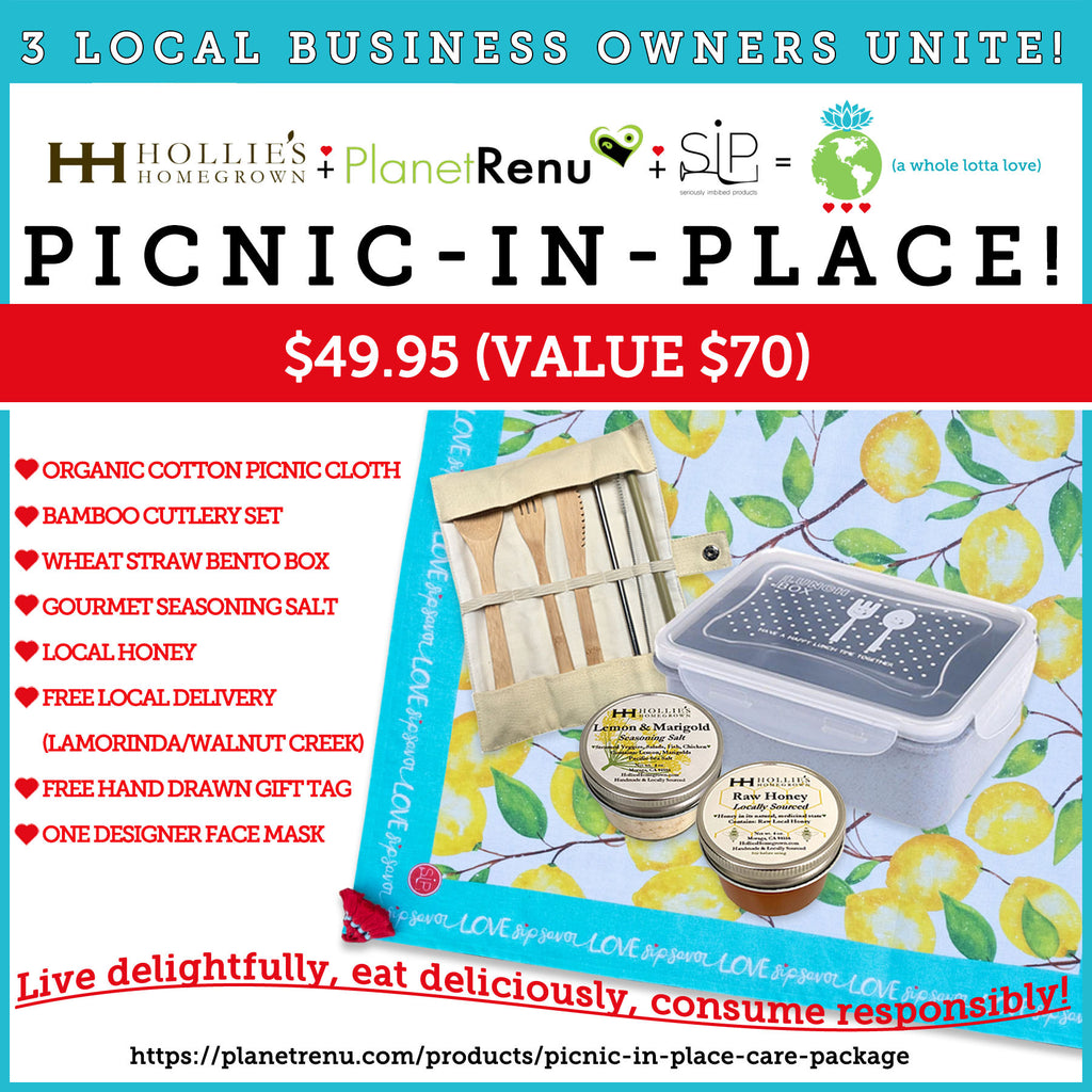 gift set, picnic, care package, eco gifts