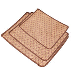Rectangular Bamboo Cooling Sleeping Mat for your Pet