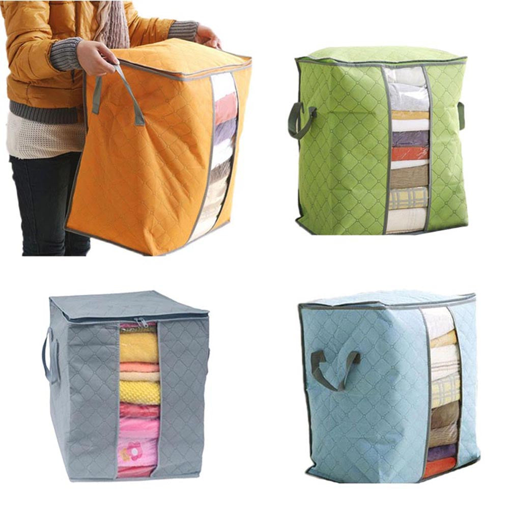 Bamboo Charcoal Quilt Clothing Storage Bag