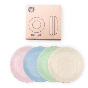 Wheat Straw Plates, Reusable Plates, Planet Renu