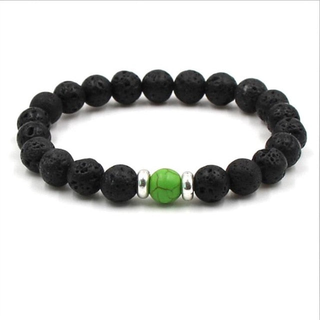 Lava Stone Bracelets- can be used with essential oils