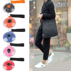 Cute Foldable Fashion Eco Reusable Handbag with Attachable Case