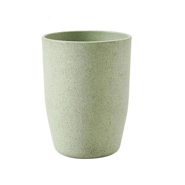 Wheat straw cup - looks/feels like plastic- but compostable