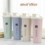Wheat Straw Water Bottle, Reusable Water Bottle, Planet Renu