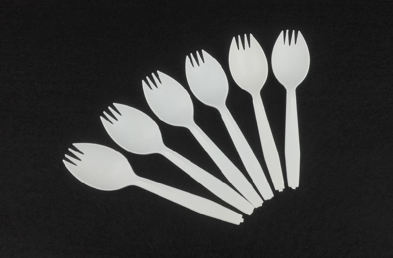 Eco-friendly Disposable Corn Starch Spoons